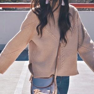Sweaters - Rubbed knit sweater